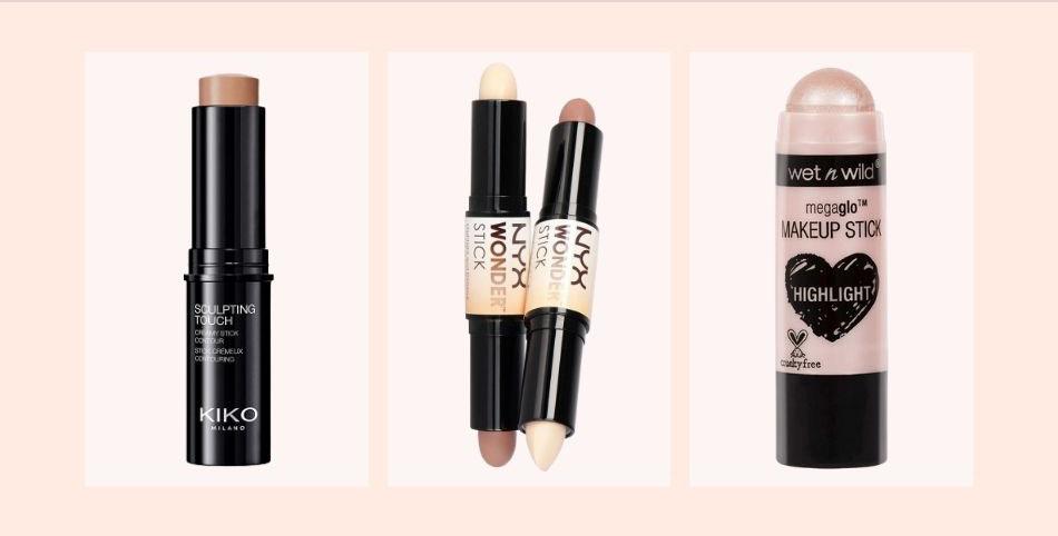 Die richtigen Produkte fürs No Makeup Makeup Highlighter Bronzer
