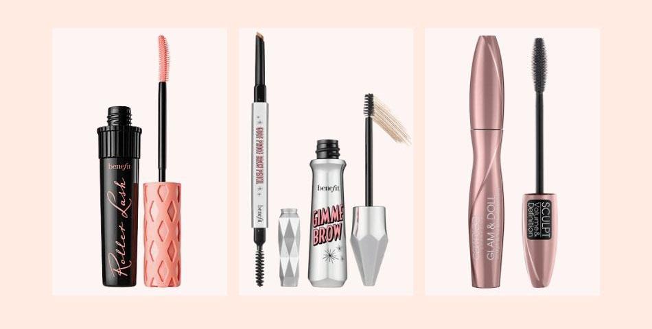 Wimpern und Augenbrauen bei einem No Makeup Makeup