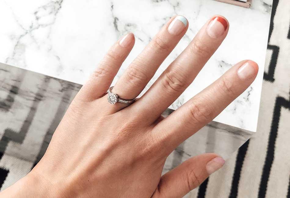 Das Ergebnis meiner selbstgerechten French Nails