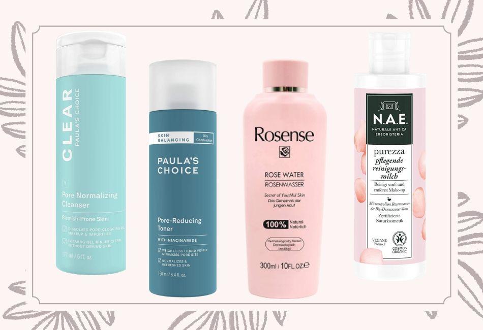 Die richtigen Produkte gegen Unreinheiten und für reine Haut