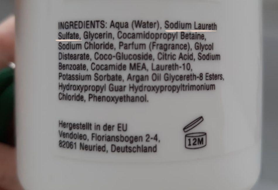 Sodium Laureth Sulfate heißen Sulfate auf der Inhaltsstoffliste