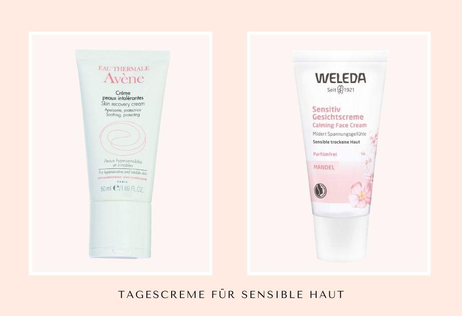 Die beste Tagescreme für sensible empfindliche Haut