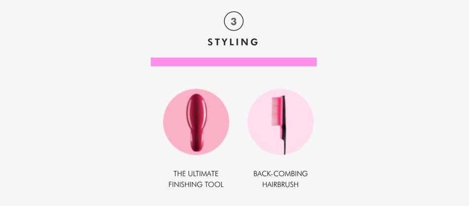 Tangle Teezer Haarbürste mit Griff zum Stylen