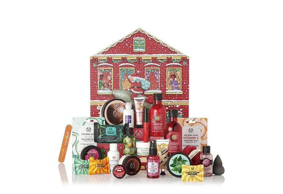 The Body Shop Deluxe Adventskalender 2019 Inhalt