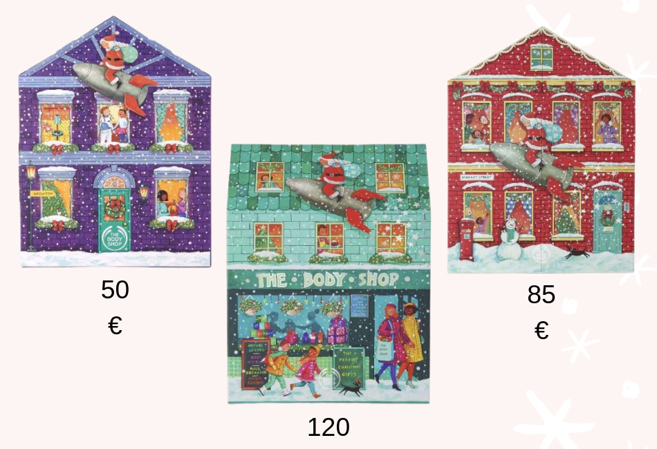 Alle The Body Shop Beauty Adventskalender 2019