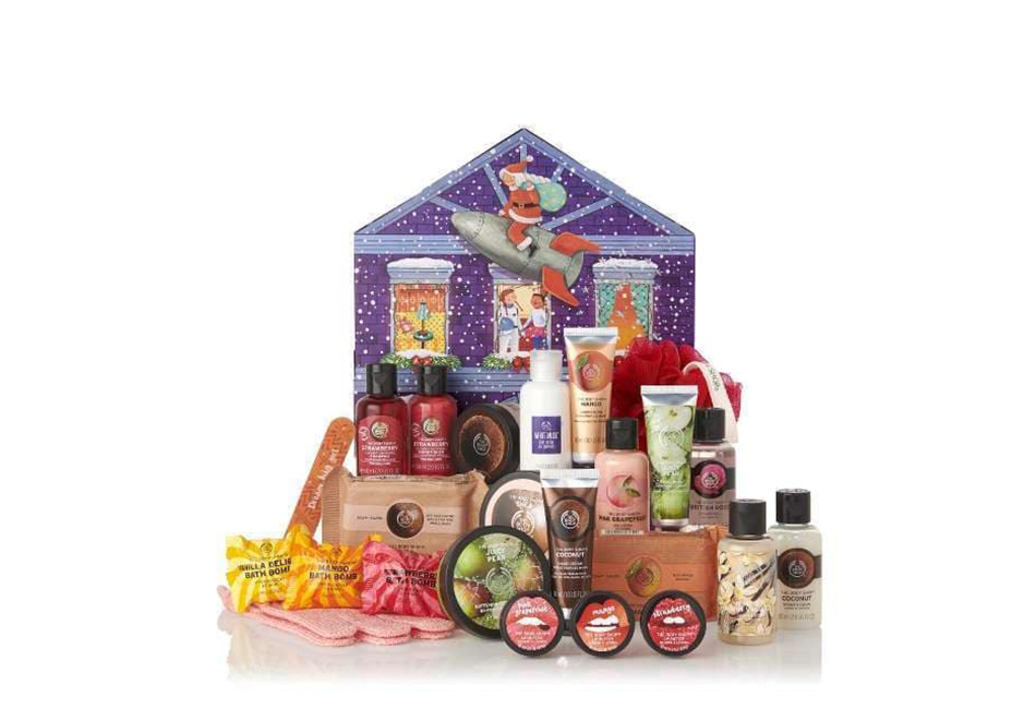 The Body Shop Beauty Adventskalender 2019 Inhalt