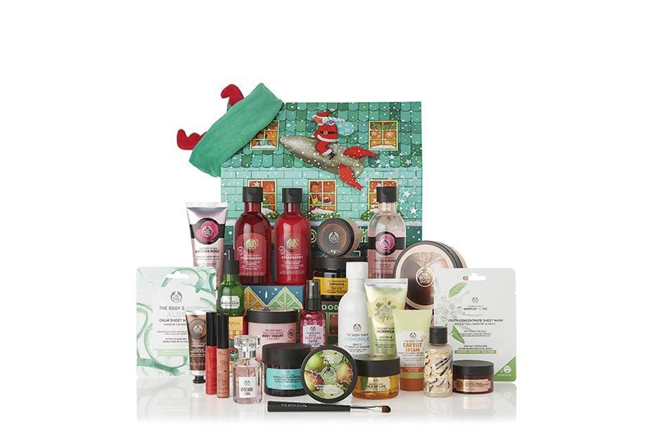 The Body Shop Ultimate Adventskalender 2019 Inhalt