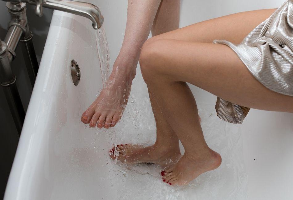 Trockene Füße richtig pflegen