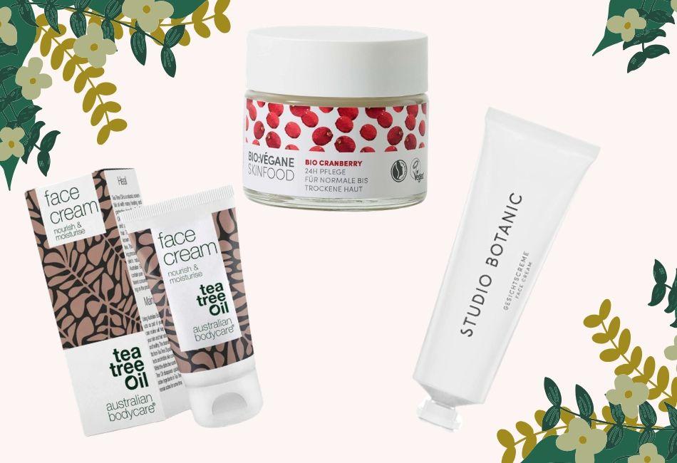 Vegane Gesichtspflege im Test Die drei besten Produkte im Vergleich