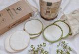 Waschbare umweltfreundliche Abschminkpads