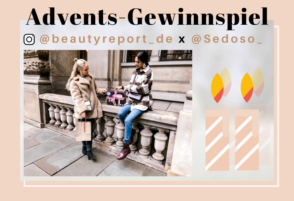 Advents Gewinnspiel 2019 beauty Report und seoso